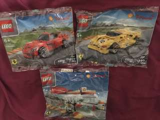 Lego Ferrari collection
