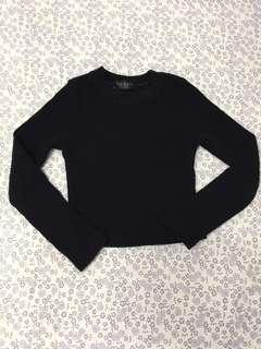 Black top knit
