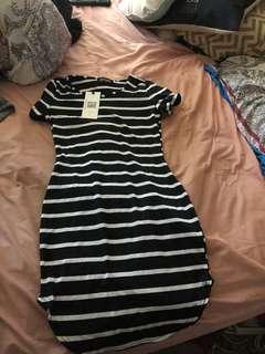 Midi T shirt dress