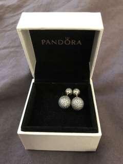 Pandora pavè drops earring RRP: $139 never worn