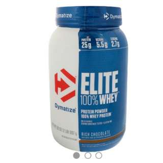 Dymatize 100% Elite Protein Whey Rich Chocolate 2lbs