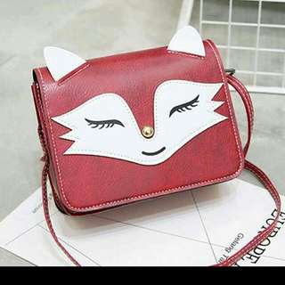 Fox sling bag with free shipping