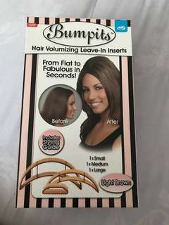 Bumpits hair volumizing leave-in inserts