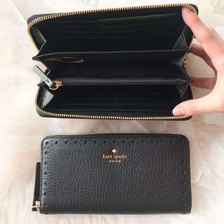 NEW Kate Spade Black Wallet