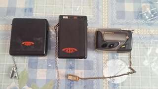 Vintage telecom and motorola Pagers