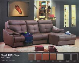 Sofa L Shape (Baly leather)