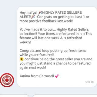 Highly Rated Seller and proof of shipping 😊