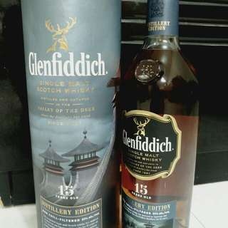 Glenfiddich Single Malt 15 Distillery Edition 酒廠限定版 Whisky 威士忌