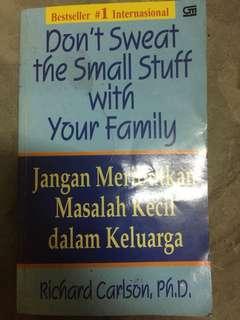 """buku paduan keluarga """"jangan meributkan masalah kecil dalam keluarga"""""""