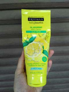 FREEMAN Clay Mask (lemon+mint) share in jar