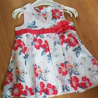 BN Baby Girl Floral Dress