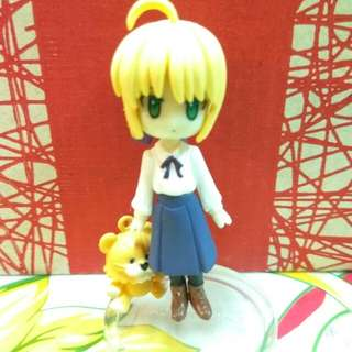 Saber Fate/Stay Night Figure 扭蛋 食玩