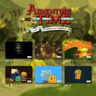 Custom E-money Flazz dan Brizzi card design Adventure Time 4