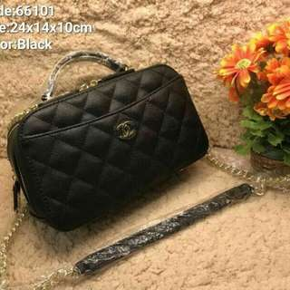 Chanel Sling Bag Black