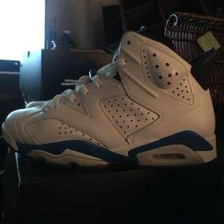 Jordan 6 sport blue