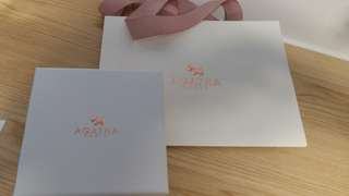 Agatha Paris paper bag and gift box
