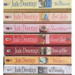 Jude Deveraux Novels, RM14 each