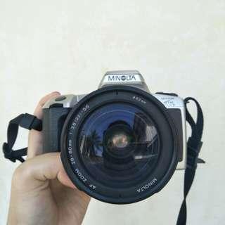 RUSH! Minolta Maxxum HTsi SLR Film Camera