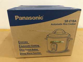 Brand New - Panasonic Rice Cooker SR-E18A