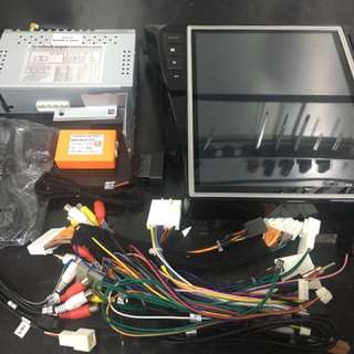 Nissan xtrail and qashqai android headunit 12.1 inch