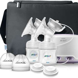 AVENT COMFORT DOUBLE ELECTRIC BREAST PUMP