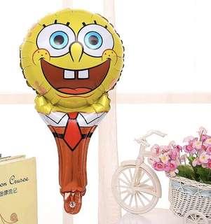 B13 happy birthday party foil balloon sponge bob spongebob handheld