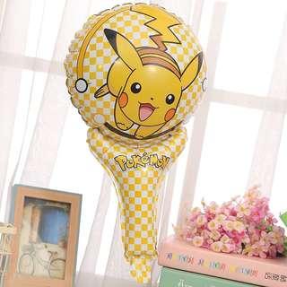 B19 happy birthday party foil balloon pikachu handheld