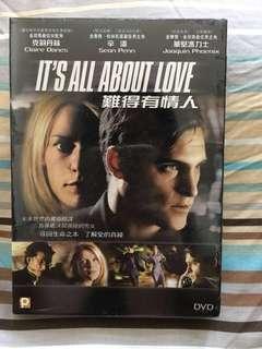 未拆膠紙 DVD It's all about love 難得有情人