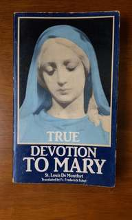 Catholic book true devotion to Mary