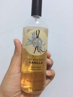 Preloved Body Mist Vanilla