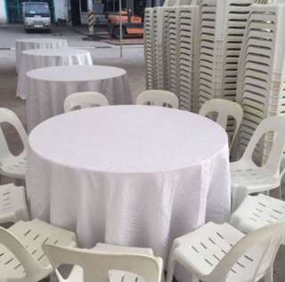 Rental of Tables Chairs Event Logistics