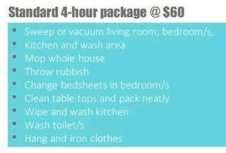 Part time maids available