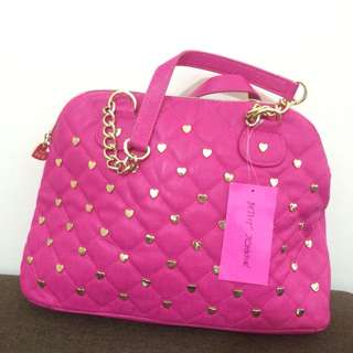 Betsey Johnson Houdini satchel