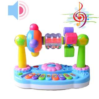 Electronic Keyboard Musical Toy Educational Animal Sound Toy for Babies