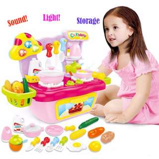 COOK Fun Kitchen Play Set with Light & Sound