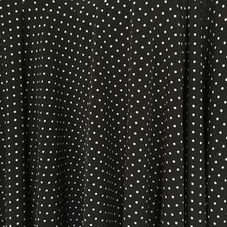 UNIQLO | Blue & Black Polkadot Mini Skirt | 418-EB01