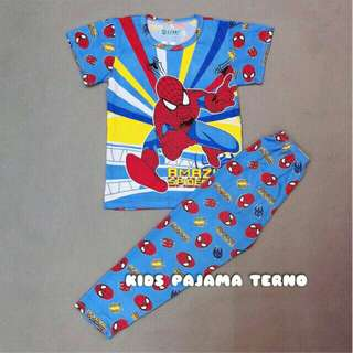 Spiderman Pajama Terno