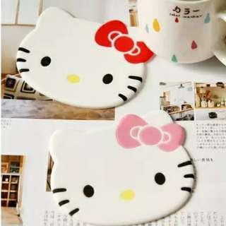 Hello Kitty cup mat