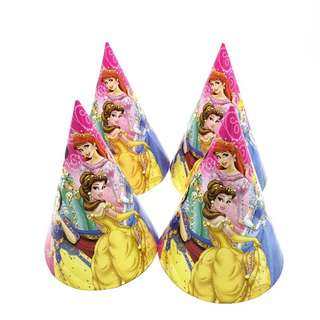 Princess party supplies - party hats
