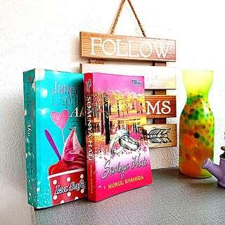 Novels 2 pcs