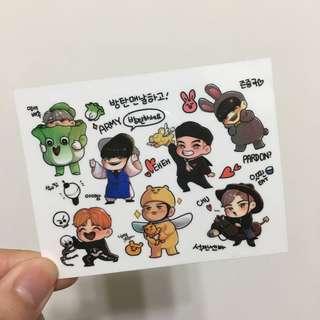 BTS飯繪貼紙