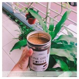 Fine diet coffee