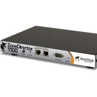 Ruckus Zone Director 1100 + 3 ZoneFlex 7300 APs ( ALMOST NEW! )