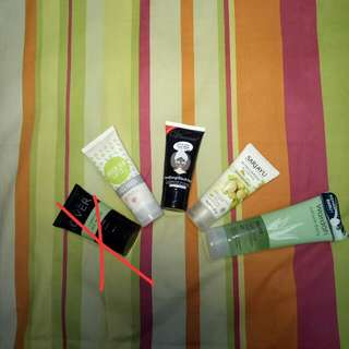 Masker Emina, Base Make Up Mak Over, Masker Vienna, Moisturizer Sariayu, Aloe Wardah