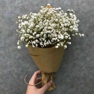🎓Graduation bouquet // Baby's breath bouquet // Flower bouquet