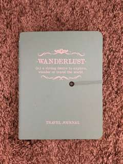 Wanderlust Travel Book