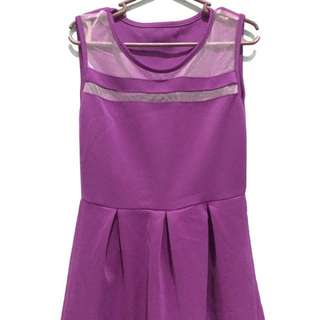 PRELOVED (used but not abused) Purple Dress