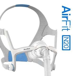 Airfit N20 鼻罩 – ResMed 瑞斯邁