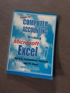 Computer Accounting ising Microsoft Excel 97