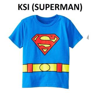 superman top for toddler 1-6 yr old size available t shirt cotton blue colour children kids fashion